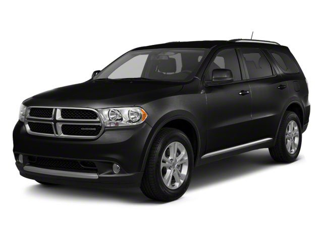 Brilliant Black Crystal Pearl 2011 Dodge Durango Pictures Durango Utility 4D Heat 2WD photos front view