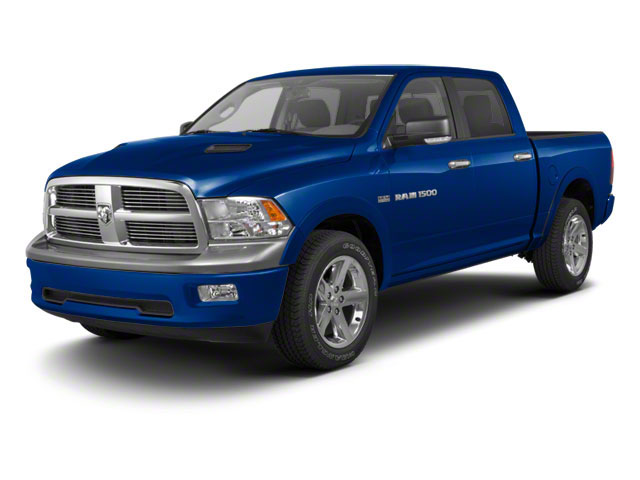 Deep Water Blue Pearl 2011 Ram Truck 1500 Pictures 1500 Crew Cab SLT 4WD photos front view