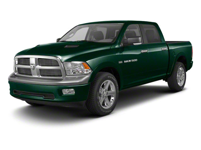 Hunter Green Pearl 2011 Ram Truck 1500 Pictures 1500 Crew Cab SLT 2WD photos front view