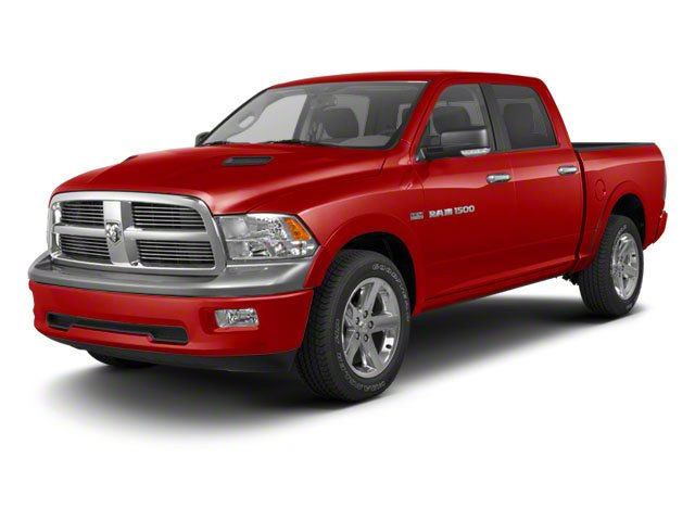 Flame Red 2011 Ram Truck 1500 Pictures 1500 Crew Cab SLT 2WD photos front view