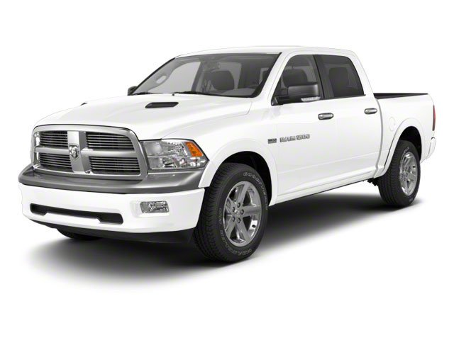 Bright White 2011 Ram Truck 1500 Pictures 1500 Crew Cab SLT 4WD photos front view