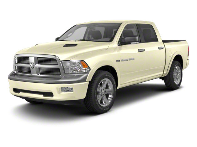 White Gold 2011 Ram Truck 1500 Pictures 1500 Crew Cab SLT 4WD photos front view