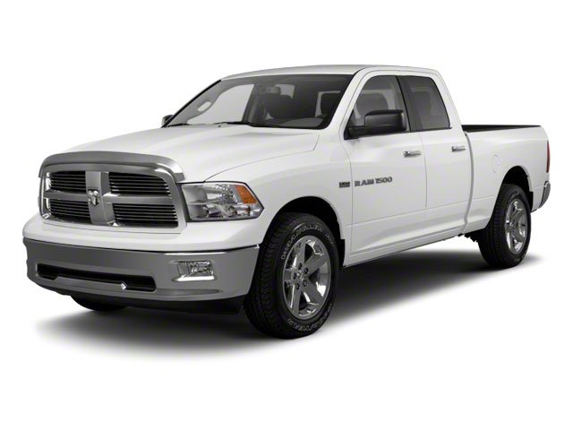 Bright White 2011 Ram Truck 1500 Pictures 1500 Quad Cab SLT 4WD photos front view