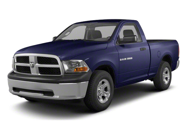 Midnight Blue Pearl 2011 Ram Truck 1500 Pictures 1500 Regular Cab Tradesman 4WD photos front view
