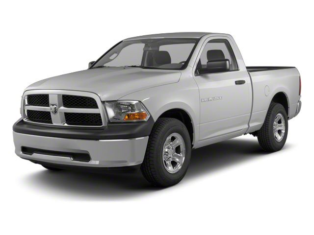 Bright Silver Metallic 2011 Ram Truck 1500 Pictures 1500 Regular Cab Outdoorsman 4WD photos front view
