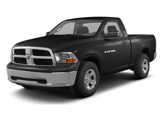Brilliant Black Crystal Pearl 2011 Ram Truck 1500 Pictures 1500 Regular Cab Outdoorsman 4WD photos front view
