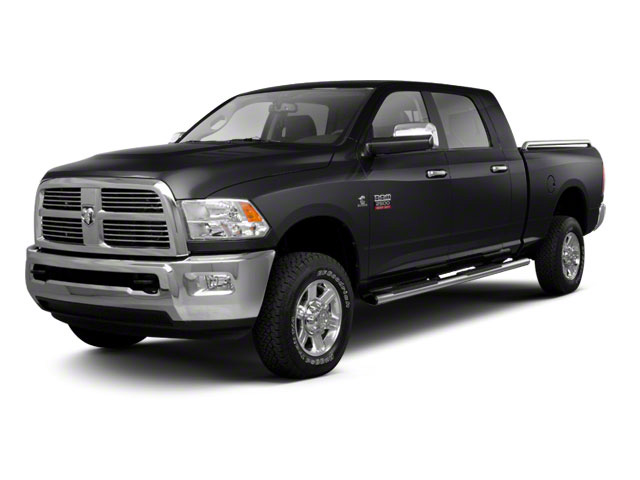 Brilliant Black Crystal Pearl 2011 Ram Truck 2500 Pictures 2500 Mega Cab Longhorn 4WD photos front view