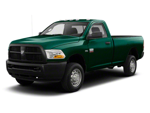 Hunter Green Pearl 2011 Ram Truck 2500 Pictures 2500 Regular Cab ST 4WD photos front view