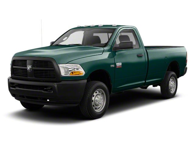 Timberline Green Pearl 2011 Ram Truck 2500 Pictures 2500 Regular Cab ST 4WD photos front view