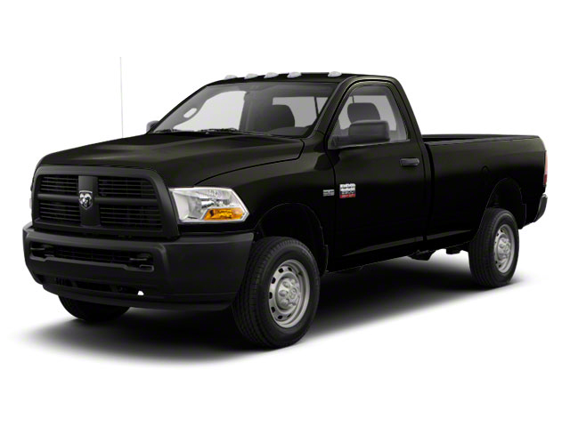 Black 2011 Ram Truck 2500 Pictures 2500 Regular Cab ST 4WD photos front view