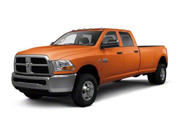 Omaha Orange 2011 Ram Truck 3500 Pictures 3500 Crew Cab SLT 2WD photos front view