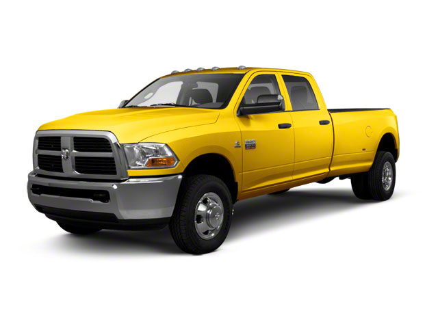 Detonator Yellow 2011 Ram Truck 3500 Pictures 3500 Crew Cab SLT 2WD photos front view