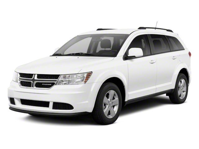 White 2011 Dodge Journey Pictures Journey Utility 4D Crew 2WD photos front view