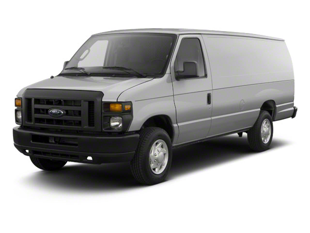 Ingot Silver Metallic 2011 Ford Econoline Wagon Pictures Econoline Wagon Super Duty Extended Wagon XLT photos front view