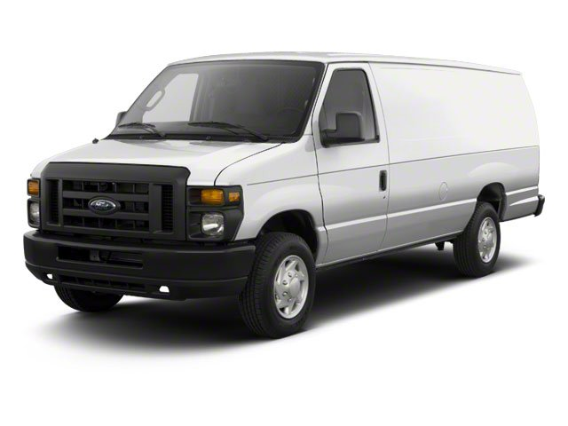 Oxford White 2011 Ford Econoline Wagon Pictures Econoline Wagon Super Duty Extended Wagon XLT photos front view