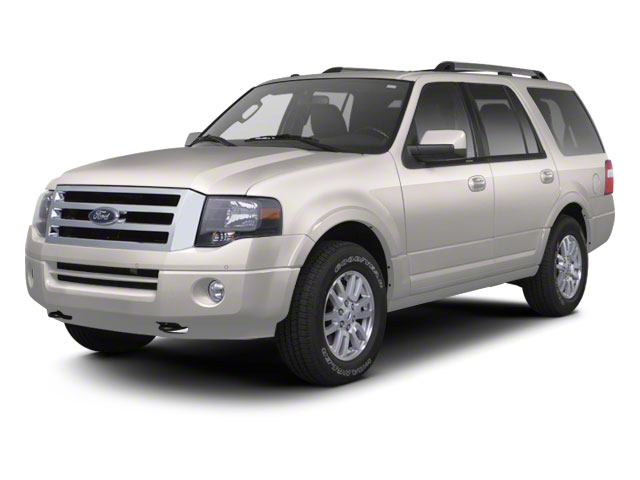 White Platinum Metallic Tri-Coat 2011 Ford Expedition Pictures Expedition Utility 4D King Ranch 2WD photos front view