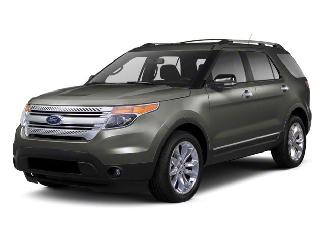 Sterling Grey Metallic 2011 Ford Explorer Pictures Explorer Utility 4D XLT 2WD photos front view