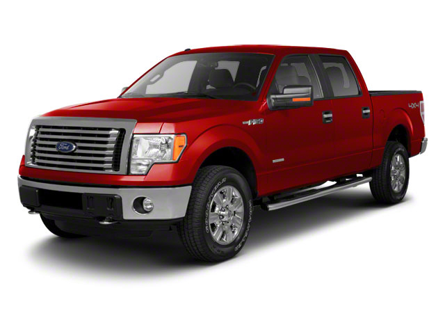 Race Red 2011 Ford F-150 Pictures F-150 SuperCrew XLT 2WD photos front view