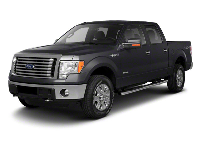 Tuxedo Black Metallic 2011 Ford F-150 Pictures F-150 SuperCrew King Ranch 2WD photos front view