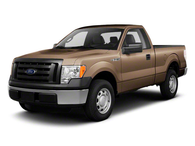 Pale Adobe Metallic 2011 Ford F-150 Pictures F-150 Regular Cab XLT 2WD photos front view