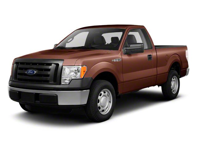 Race Red 2011 Ford F-150 Pictures F-150 Regular Cab XLT 2WD photos front view