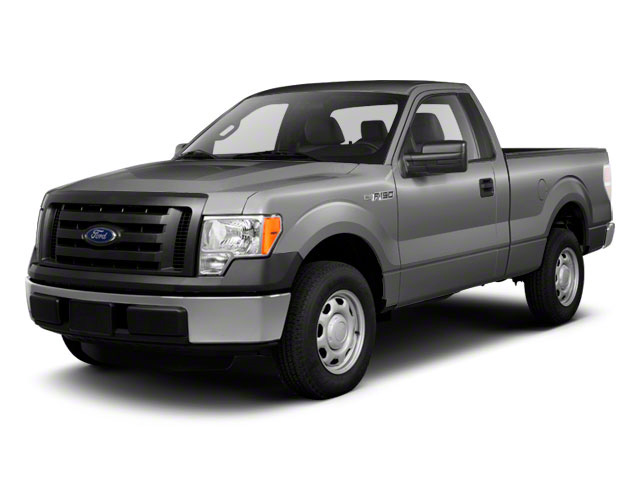 Ingot Silver Metallic 2011 Ford F-150 Pictures F-150 Regular Cab XLT 2WD photos front view