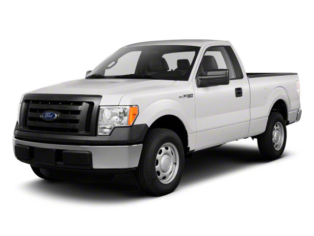 Oxford White 2011 Ford F-150 Pictures F-150 Regular Cab XLT 2WD photos front view