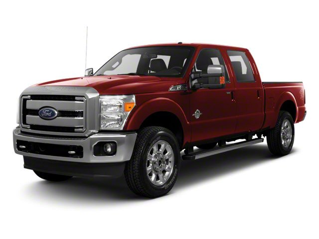 Vermillion Red 2011 Ford Super Duty F-250 SRW Pictures Super Duty F-250 SRW Crew Cab XLT 2WD photos front view