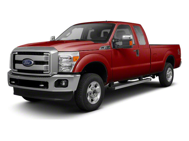 Vermillion Red 2011 Ford Super Duty F-250 SRW Pictures Super Duty F-250 SRW Supercab XL 2WD photos front view