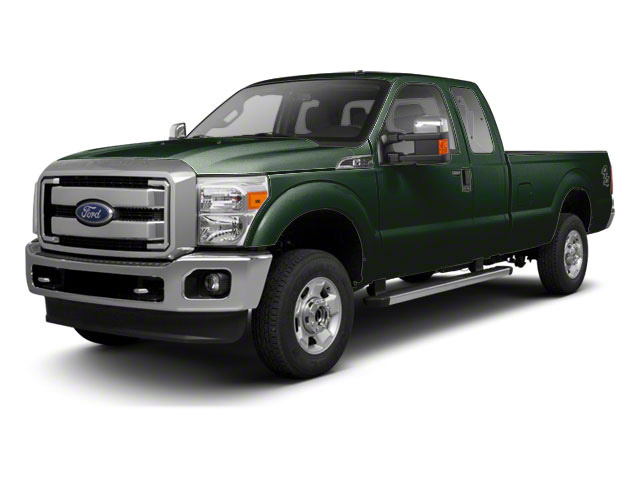 Forest Green Metallic 2011 Ford Super Duty F-250 SRW Pictures Super Duty F-250 SRW Supercab XL 2WD photos front view