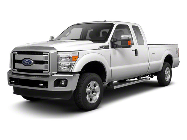 Oxford White 2011 Ford Super Duty F-250 SRW Pictures Super Duty F-250 SRW Supercab XL 2WD photos front view