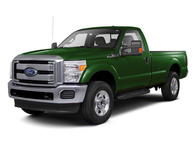 Forest Green Metallic 2011 Ford Super Duty F-250 SRW Pictures Super Duty F-250 SRW Regular Cab XL 4WD photos front view