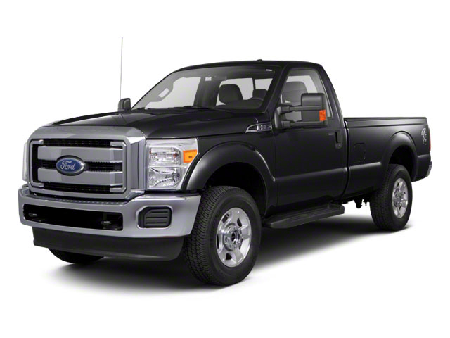Black 2011 Ford Super Duty F-250 SRW Pictures Super Duty F-250 SRW Regular Cab XL 4WD photos front view