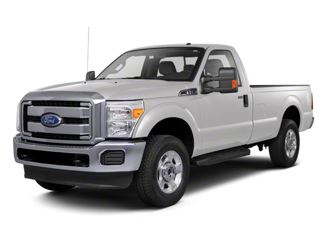 Oxford White 2011 Ford Super Duty F-250 SRW Pictures Super Duty F-250 SRW Regular Cab XL 4WD photos front view