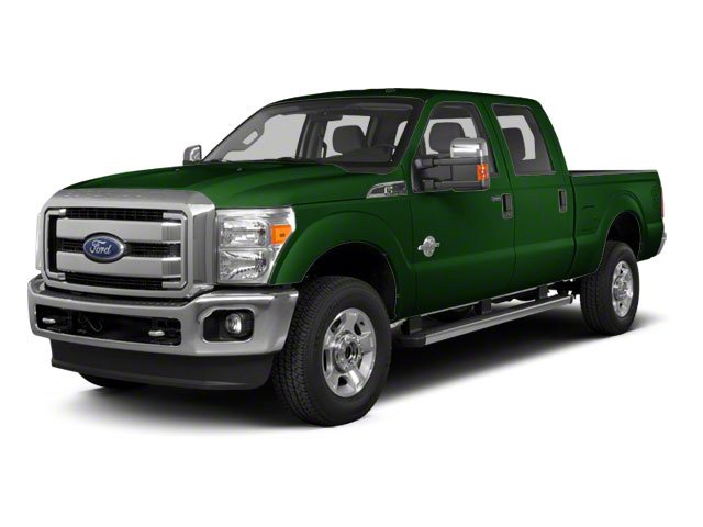 Forest Green Metallic 2011 Ford Super Duty F-350 DRW Pictures Super Duty F-350 DRW Crew Cab XL 2WD photos front view