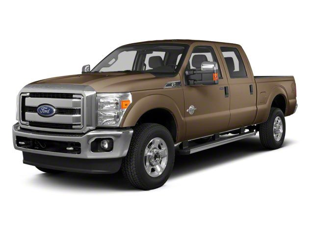 Pale Adobe Metallic 2011 Ford Super Duty F-350 DRW Pictures Super Duty F-350 DRW Crew Cab XL 2WD photos front view
