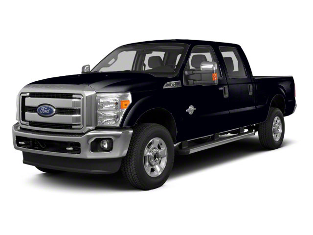Black 2011 Ford Super Duty F-350 DRW Pictures Super Duty F-350 DRW Crew Cab XL 2WD photos front view