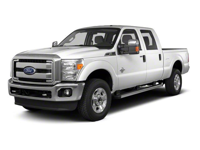 Oxford White 2011 Ford Super Duty F-350 DRW Pictures Super Duty F-350 DRW Crew Cab XL 2WD photos front view