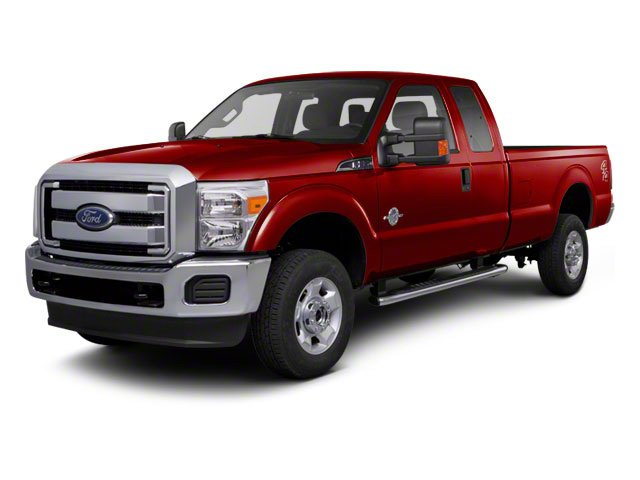 Vermillion Red 2011 Ford Super Duty F-350 DRW Pictures Super Duty F-350 DRW Supercab Lariat 4WD photos front view