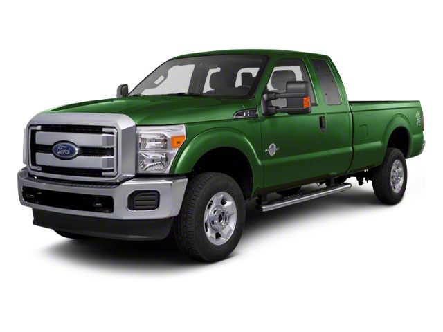 Forest Green Metallic 2011 Ford Super Duty F-350 DRW Pictures Super Duty F-350 DRW Supercab Lariat 4WD photos front view