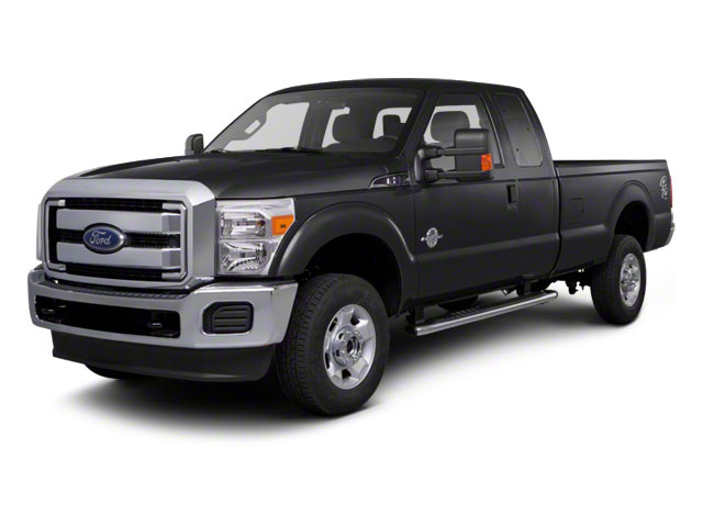Tuxedo Black Metallic 2011 Ford Super Duty F-350 DRW Pictures Super Duty F-350 DRW Supercab XLT 2WD photos front view