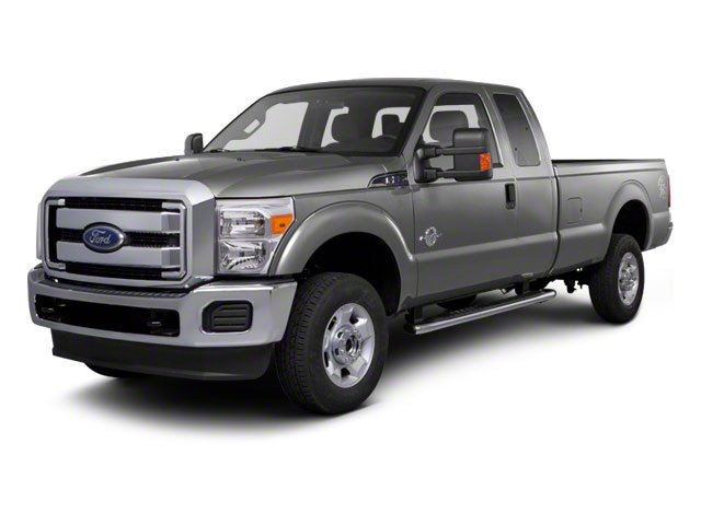 Ingot Silver Metallic 2011 Ford Super Duty F-350 DRW Pictures Super Duty F-350 DRW Supercab XLT 2WD photos front view