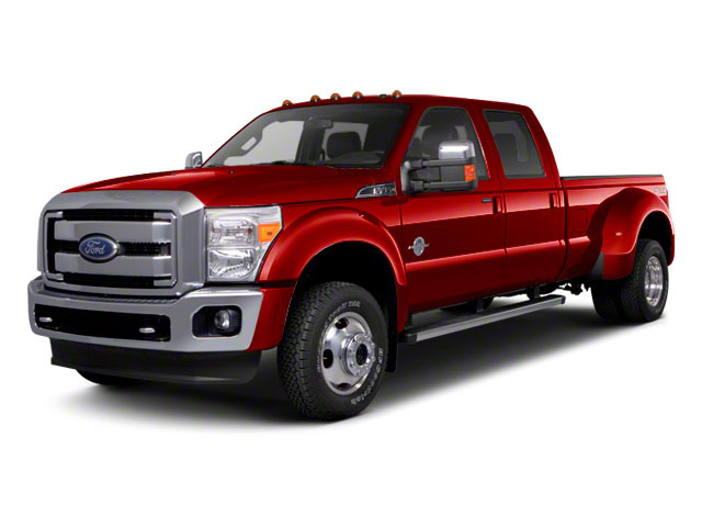Vermillion Red 2011 Ford Super Duty F-450 DRW Pictures Super Duty F-450 DRW Crew Cab Lariat 4WD T-Diesel photos front view