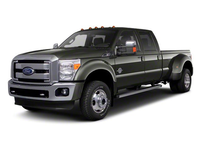 Sterling Gray Metallic 2011 Ford Super Duty F-450 DRW Pictures Super Duty F-450 DRW Crew Cab Lariat 4WD T-Diesel photos front view