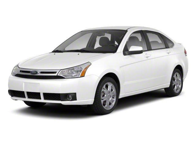 White Suede 2011 Ford Focus Pictures Focus Sedan 4D SEL photos front view