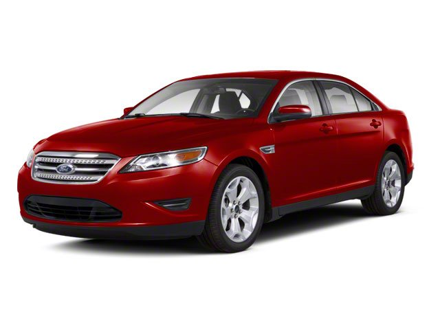 Red Candy Metallic Tinted 2011 Ford Taurus Pictures Taurus Sedan 4D SHO AWD photos front view
