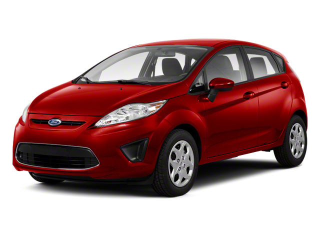 Red Candy Metallic 2011 Ford Fiesta Pictures Fiesta Hatchback 5D SE photos front view