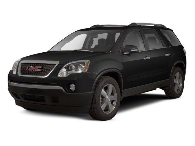 Carbon Black Metallic 2011 GMC Acadia Pictures Acadia Wagon 4D SLE AWD photos front view