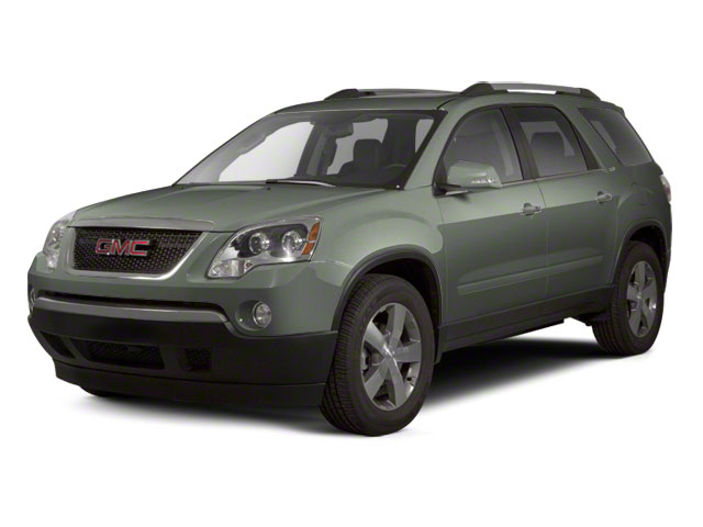 Gray Green Metallic 2011 GMC Acadia Pictures Acadia Wagon 4D SLE AWD photos front view