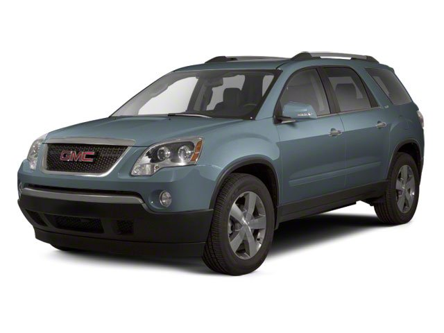 Ice Blue Metallic 2011 GMC Acadia Pictures Acadia Wagon 4D SLE AWD photos front view